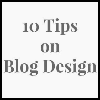 blog design, tips on blog design, iretreat2014, blogging tips