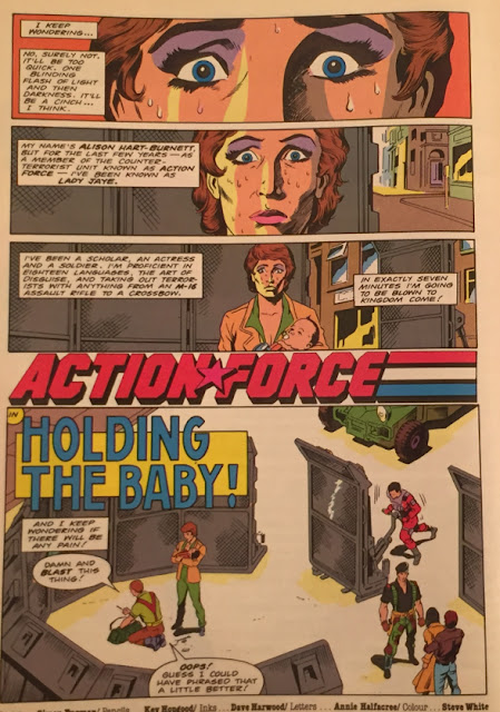 Action Force Comic #9, Zartan