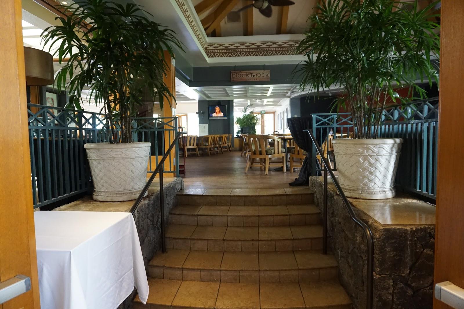 Two Restaurants Poolside Beachfront Bars Na Hoku Sheraton Lounge Lobby Coffee Cart And In Room Dining