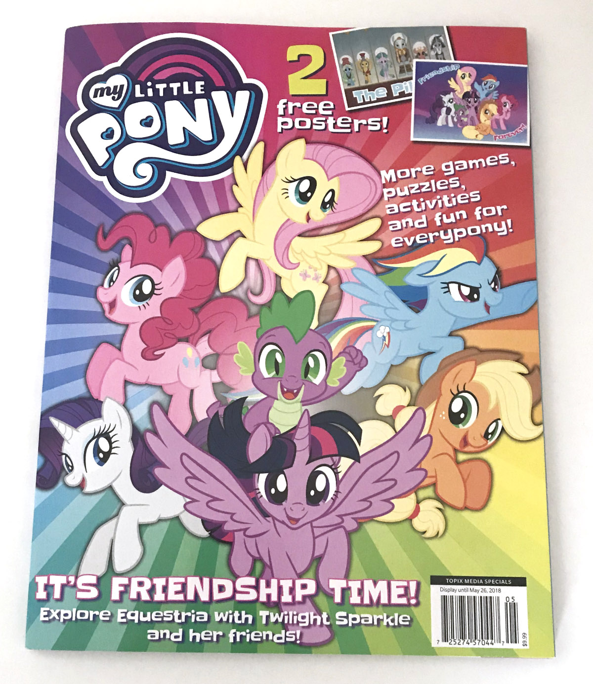 new issue of my little pony magazine now in us mlp merch