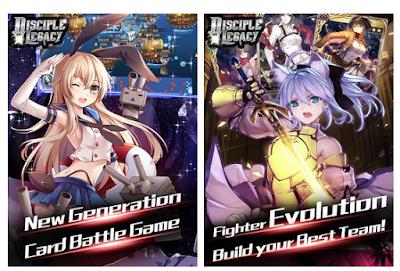 Disciple Legacy v2.0.4 Apk : Game Anime Terlengkap Terbaru