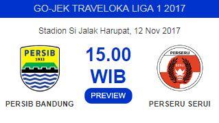 Persib Bandung vs Perseru: Maung Bandung Krisis Pemain