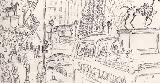 URBAN SKETCHES IN SPRING 2016