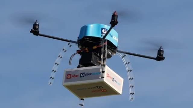 99 quer entregar pizza por drones