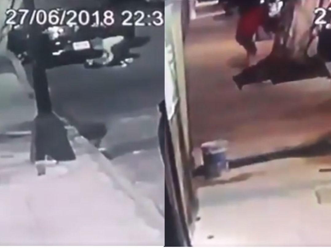 Los 10 segundos del ataque a familia en la Del Valle; expareja de víctima, el principal sospechoso (Video)