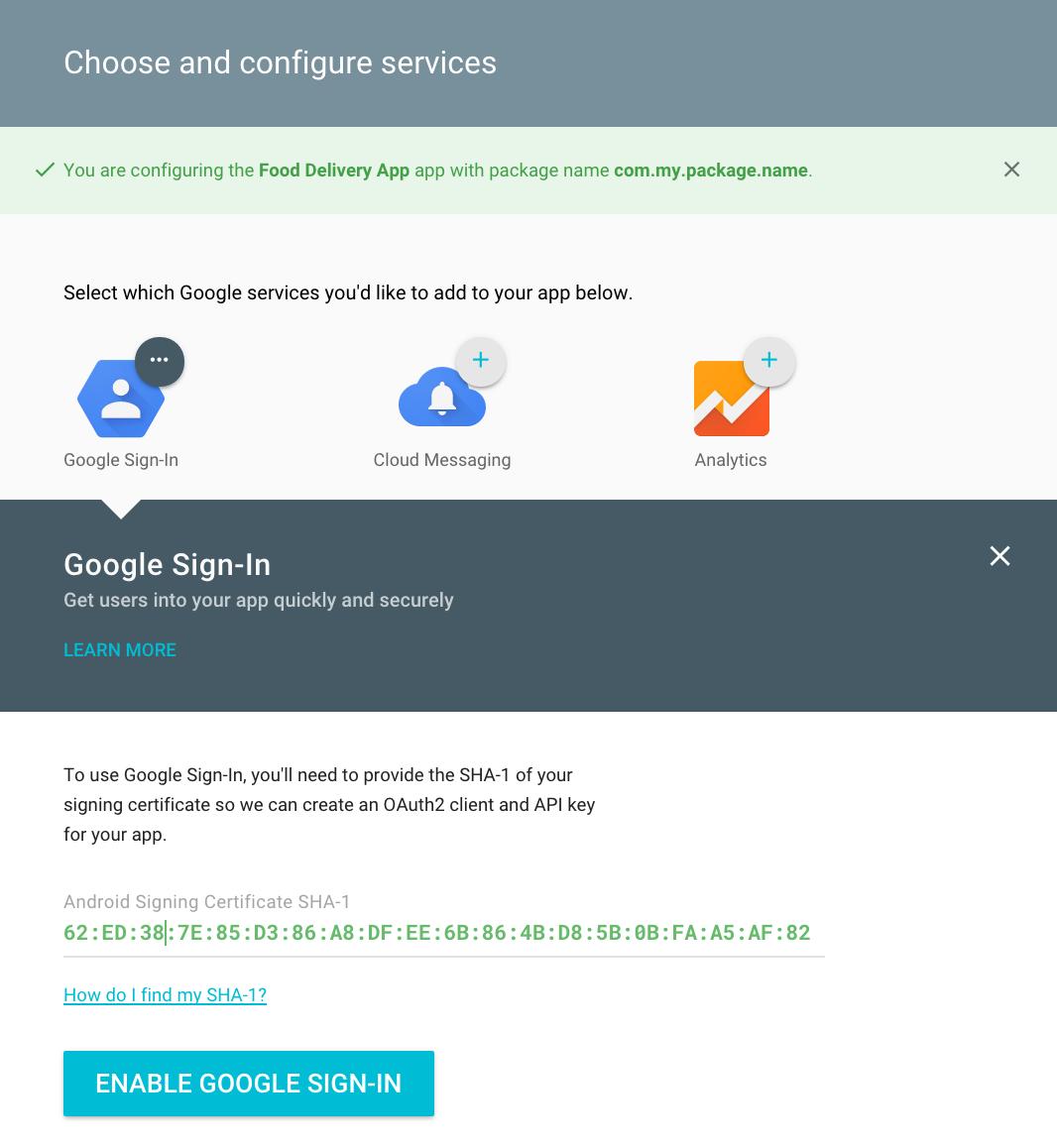 Uncategorized www google com br google chrome android - Enabling Google Sign In