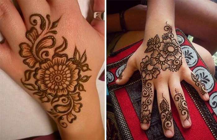 Latest Kids Mehandi Designs