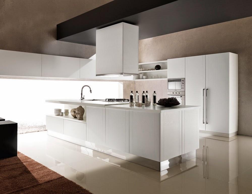 Cocinas en blanco total  Cocinas con estilo