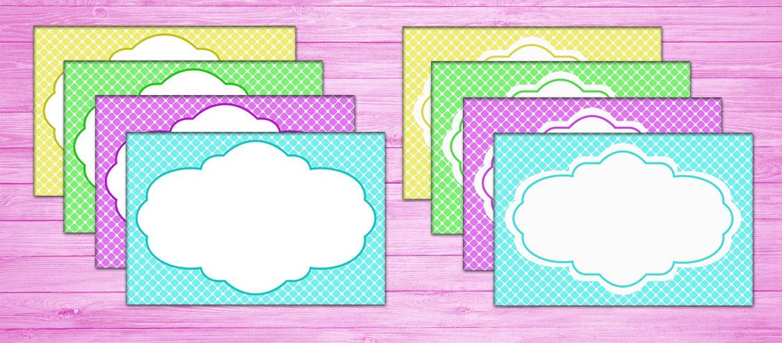 Como Crear Marcos para Etiquetas en Photoshop - Diseño II