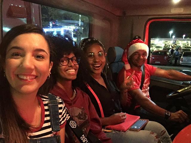caravana iluminada coca cola 2018