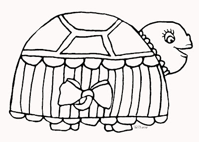 Tiffany Turtle, Free Crudoodle Digital Stamp by Tori Beveridge