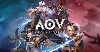 Cara Bermain 2 Akun Garena AOV - Arena Of Valor dalam 1 HP