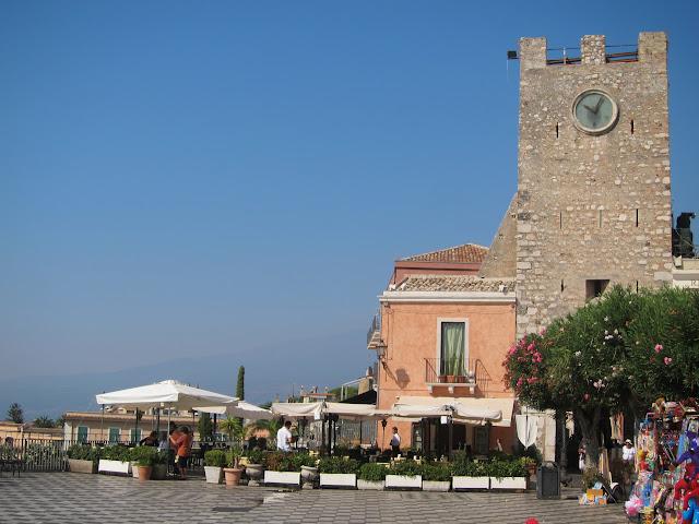 Piazza IX Aprile i Taormina