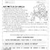 Aritmética da Emília: atividade de interpretação de texto para imprimir