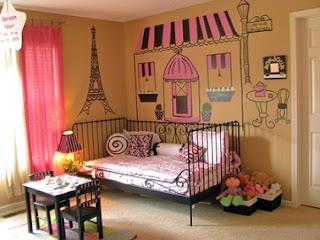 Habitación temática para niña