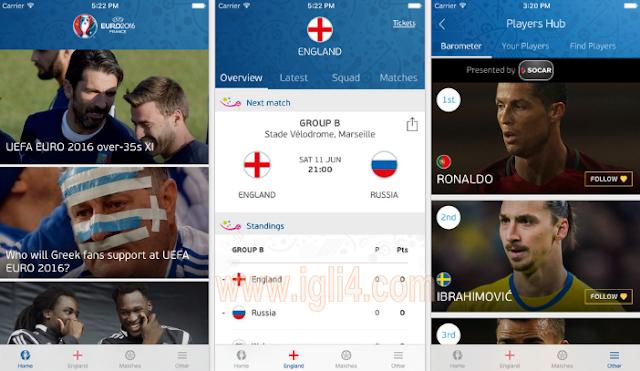 تطبيق UEFA EURO 2016