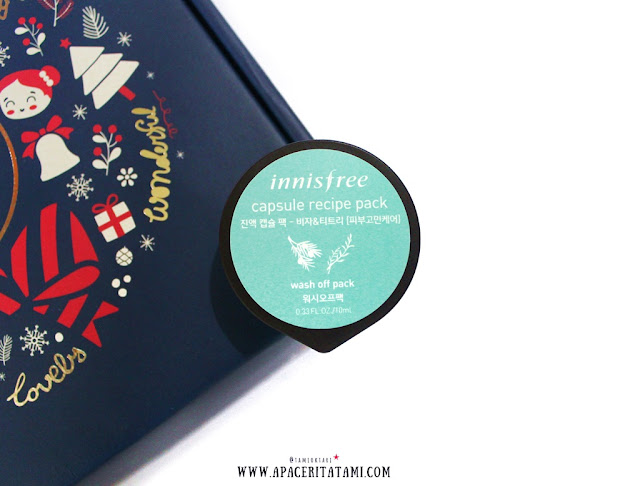 Unboxing Althea Korea-Innisfree Capsule Recipe Pack