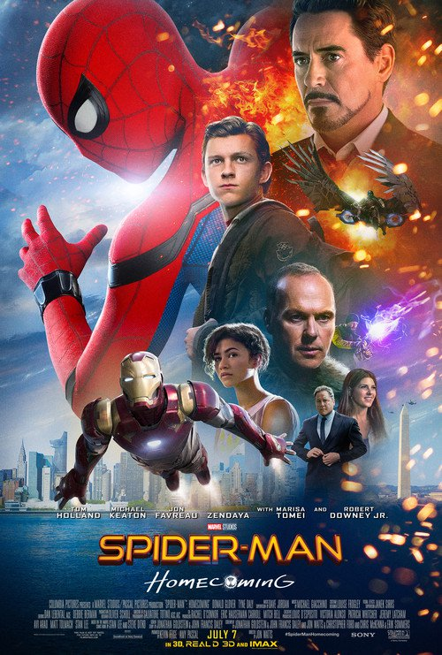 Spider Man Homecoming 2017 Dual Audio 720p WEB-DL 1Gb ESub x264