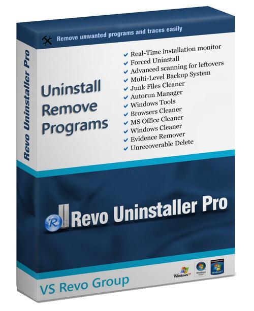 Revo Uninstaller Pro 3.1.2 + Patch/Crack