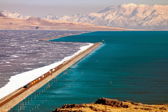 Great Salt Lake Causeway