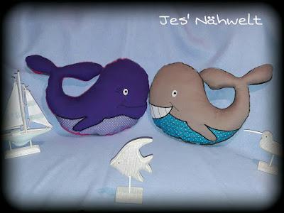Tierkissen Wal