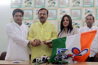 Roshan Giri's sister Parishima (Paru) Giri Joins TMC