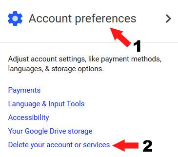 google ke gmail account ko delete kaise kare