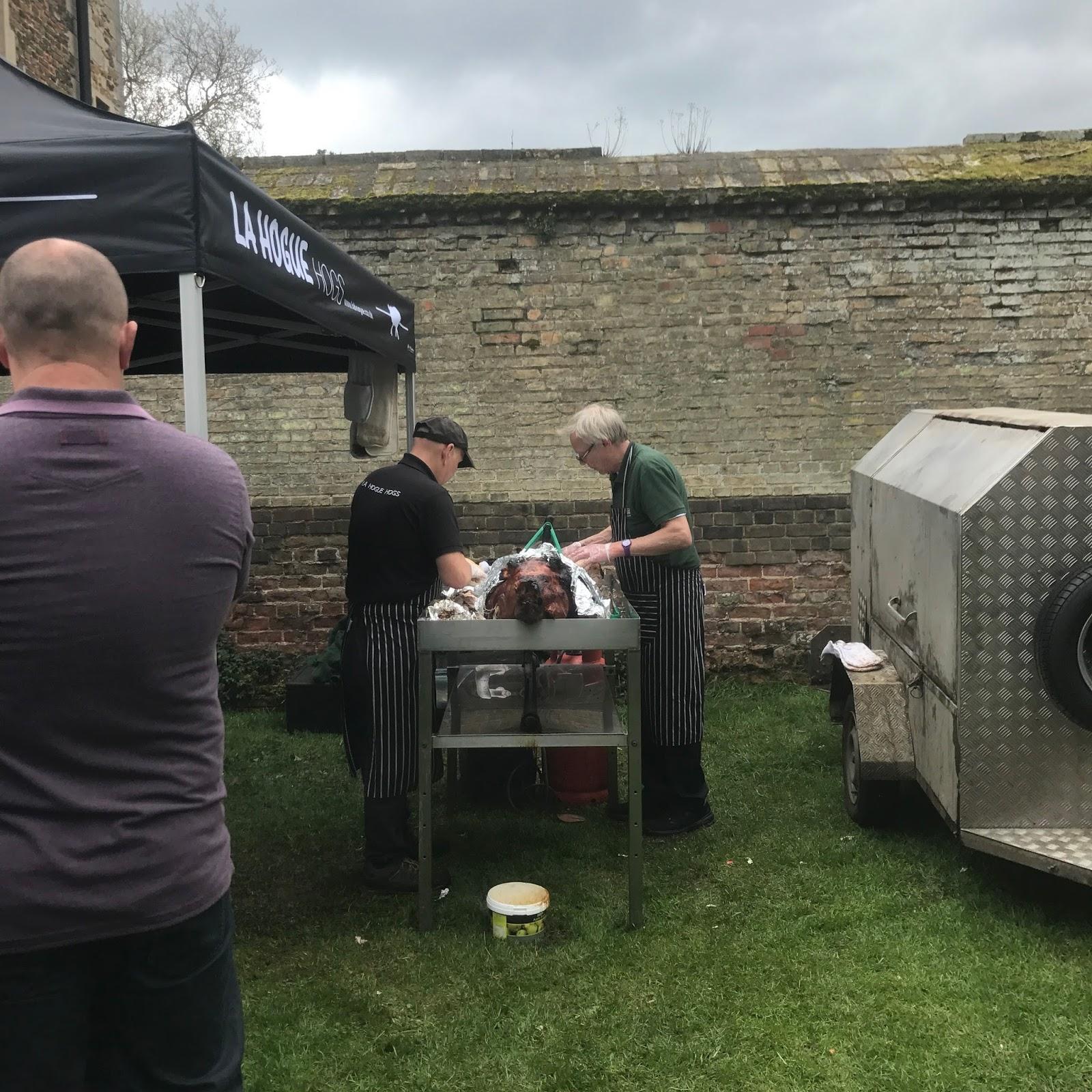 Ely Food Festival 2017 Hog Roast