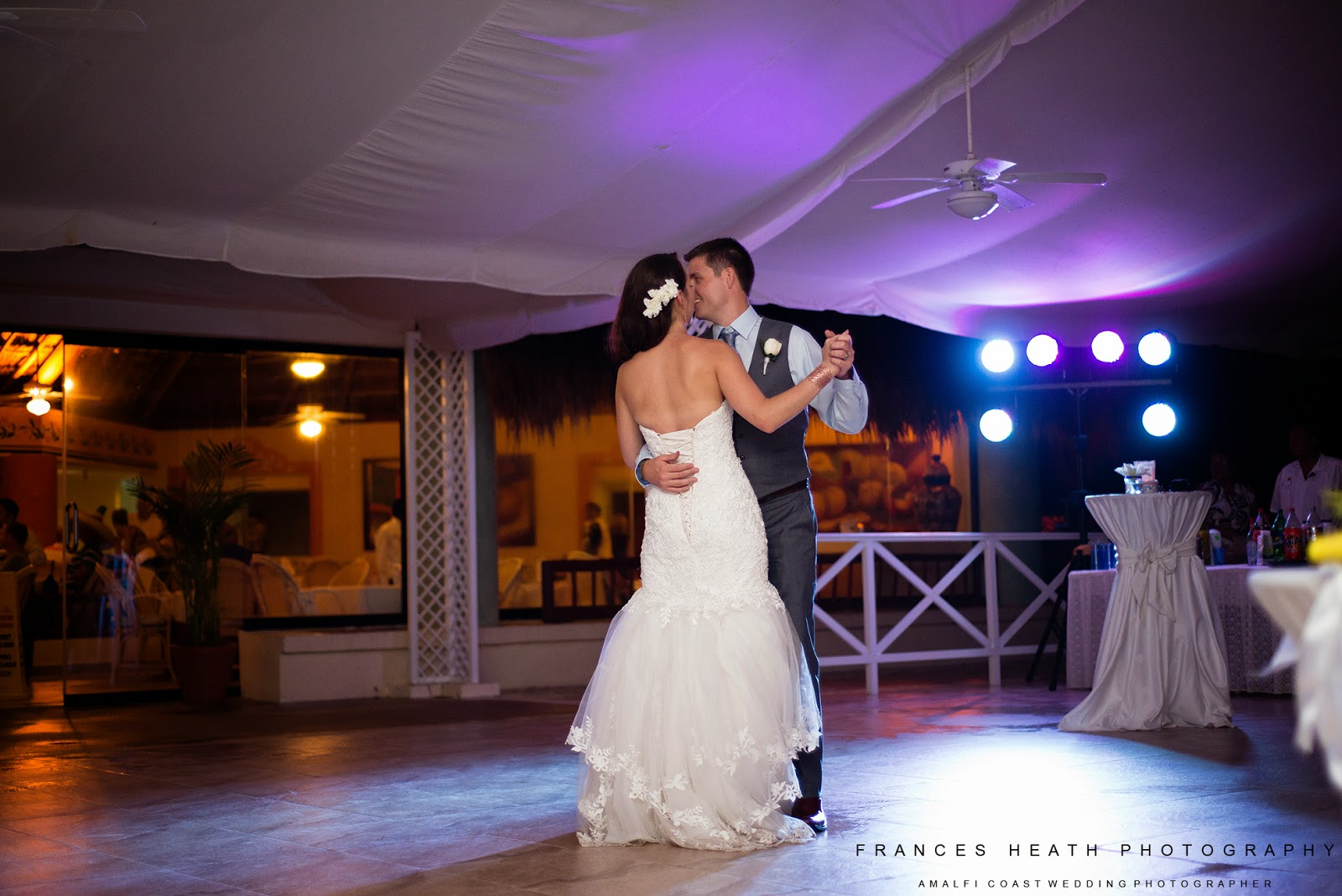 First dance Grand Bahia Principe Tulum