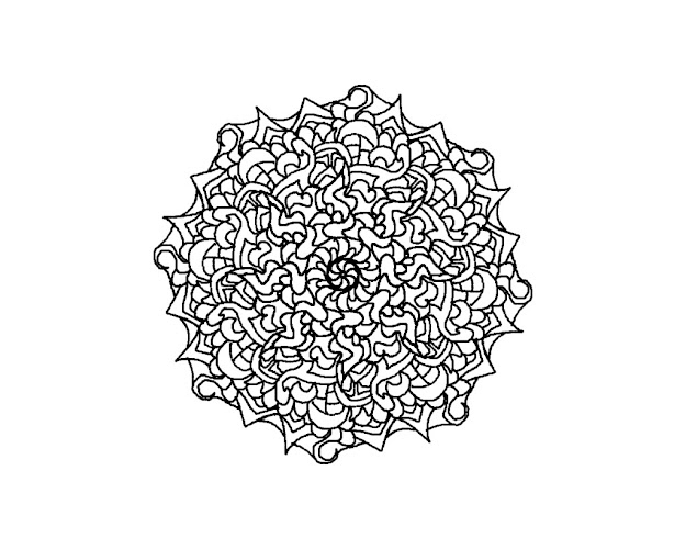 Difficult Level Mandala Coloring Pages  Downloaddifficult Mandala Coloring  Pages Pictures Imagixs