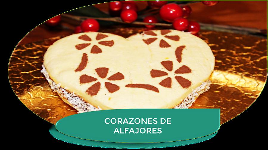 CORAZONES DE ALFAJORES ARGENTINOS