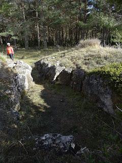 Dolmen de Valdemuriel. Corredor y cámara