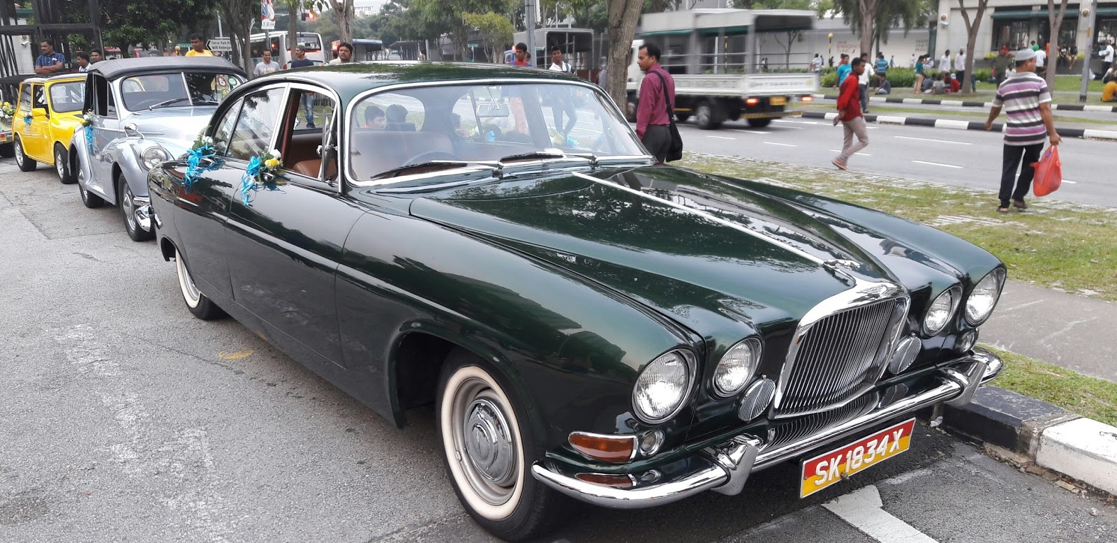 ... I Would Say That Old Jaguars Are U0027endangeredu0027: You Can Find Them In The  Wild But You Need Luck And Skill To Find One. However, This 1963 Jaguar  Mark ...