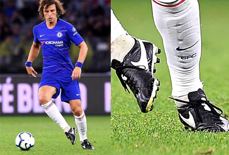 David Luiz Wears Nike Premier Football Boot in 2018-2019 Season e9d4395621f