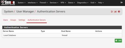 Autentication Servers