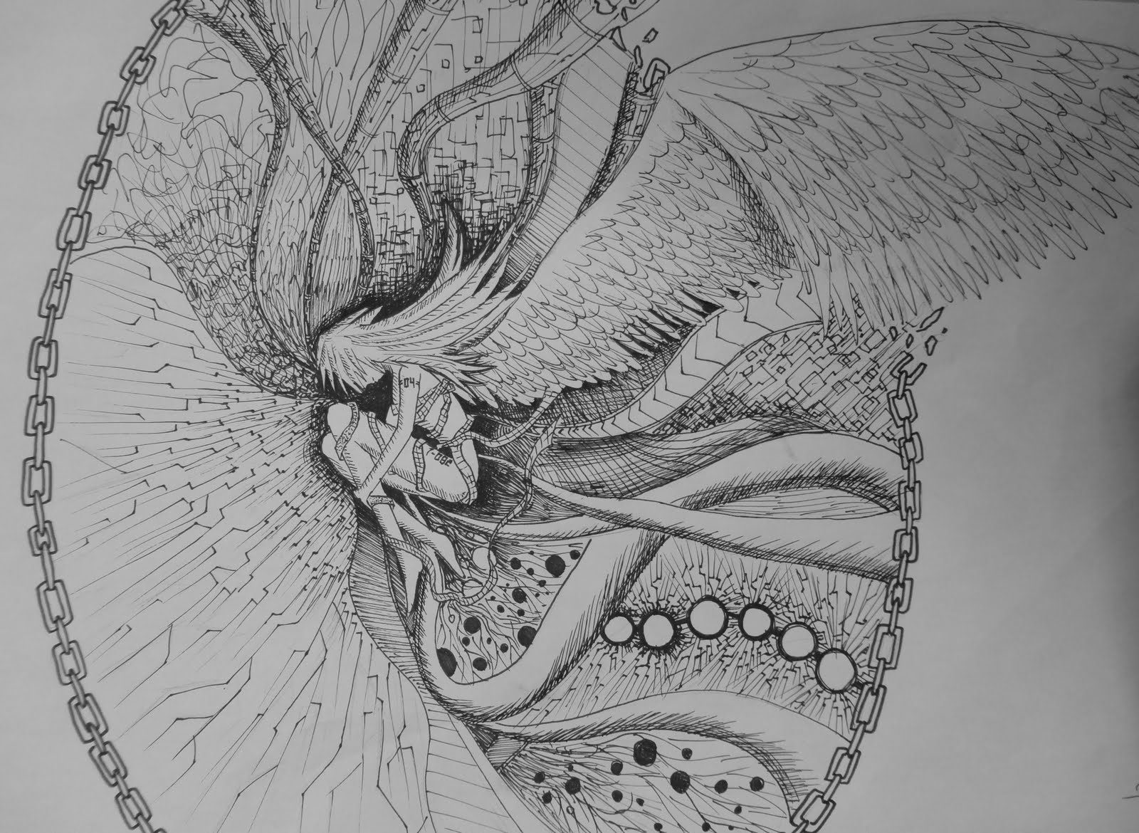 Art Mash: PEN and INK DRAWINGS