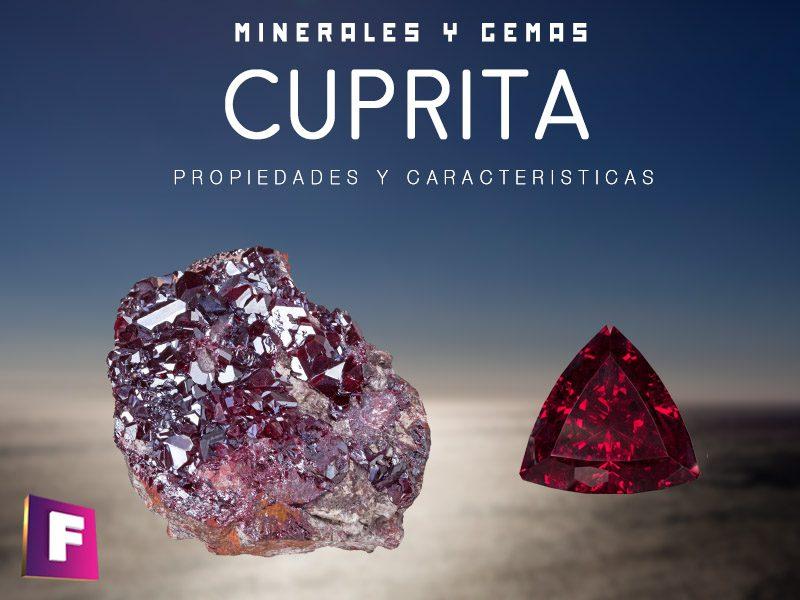 cuprita propiedades características principales y sus variedades | foro de minerales