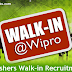 Wipro Freshers Walk-in Drive on 23rd November 2017.