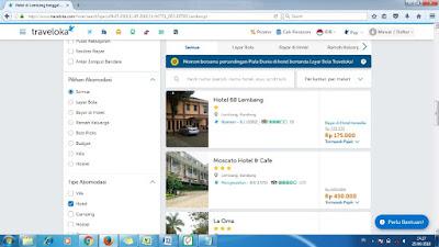 Penginapan di Lembang dengan Traveloka