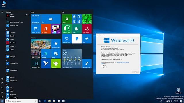 Download Windows 10 Build 17666