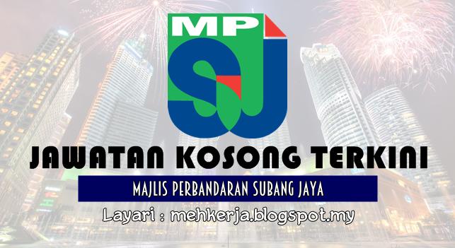 Jawatan Kosong Terkini 2016 di Majlis Perbandaran Subang Jaya (MPSJ)