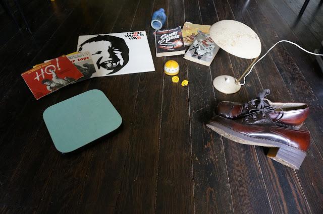 vintage 70s chunky shoes formica dessous de plat céramique Blin pas pour moi