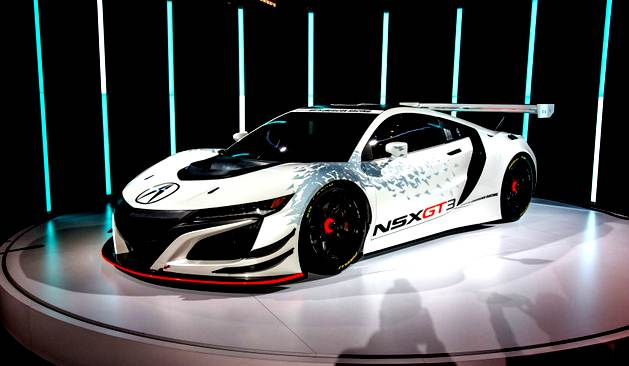 New 2017 Acura NSX GT3 Engine