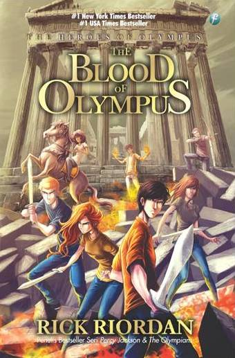Rick Riordan -The Heroes of Olympus 5 - Blood of Olympus