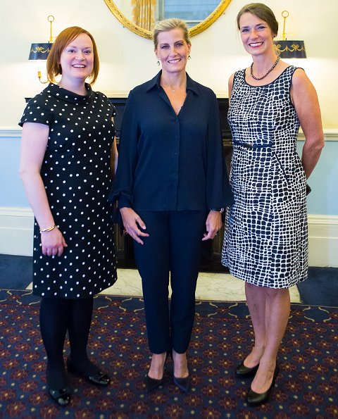 Sophie, Countess of Wessex attended the Women in Banking and Finance Awards Alumni Event and Dinner