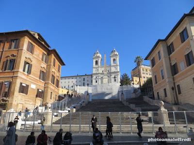 Scalinata di Trinita' dei Monti Roma