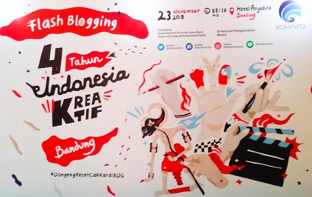 Flash Blogging Bdg oleh KOMINFO