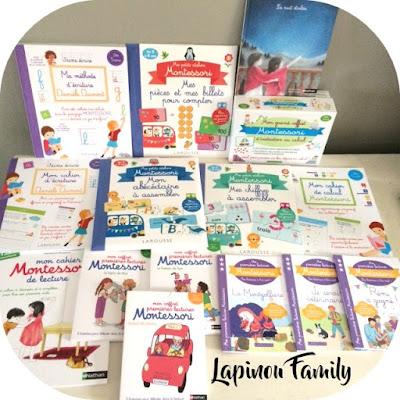 selection lire ecrire compter montessori