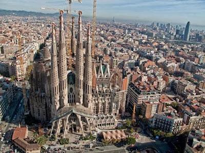 Sagrada Familia oggi