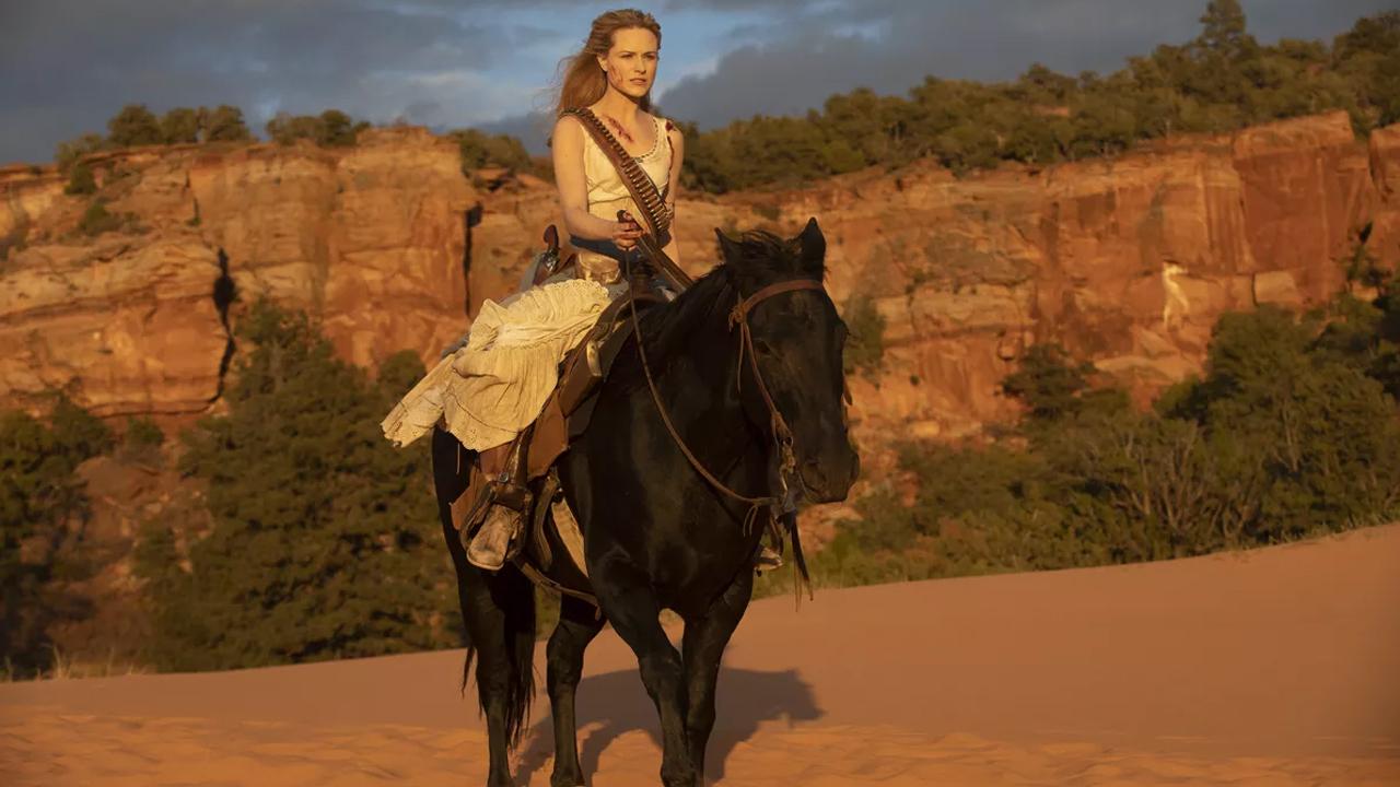 Fotografía de Dolores en el 2x10 de Westworld en HBO, The Passenger